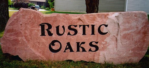 Rustic Oaks Rock